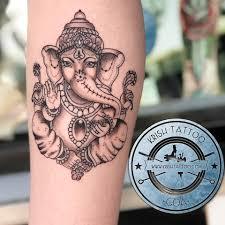 We Did 2 Ganesh Tattoo On A Special Day Krish Tattoo Studio