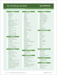 wedding checklist templates wedding planning checklist for excel