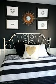 Black White And Gold Bedroom Decorating Ideas Best Decoration Room ...