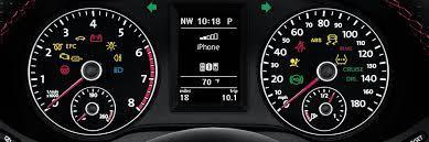 what volkswagen dashboard lights mean