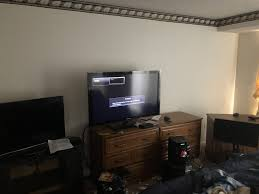 Tv Stand Size Chart What Size Tv For Bedroom Reddit Stand Viewing Distance Flat