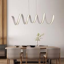 modern design lighting. l6009001200mm modern aluminum led chandeliers light for dinning room bar study design lighting
