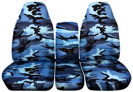 dodge ram 40 20 40 blue camo seat covers
