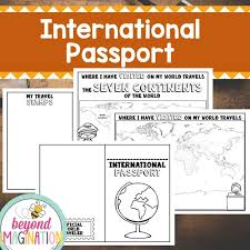Free Passport Template For Kids Fantastic Pretend Passport Template Photos Example Resume and 79