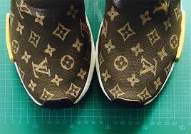 louis vuitton adidas. supreme-louis-vuitton-adidas-nmd-custom-05 louis vuitton adidas t