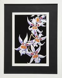 bontanical floral white orchid flower wall decor print 11 25x14 white frame on orchid flower wall art with bontanical floral white orchid flower wall decor print 11 25x14
