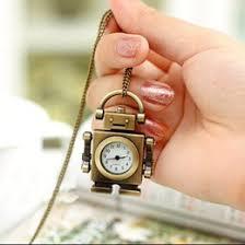 discount mens pocket watches 2017 mens pocket watches for discount mens pocket watches 2015 shipping hot whole ladies mens new robot cute