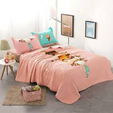 Discount Thin Quilts For Summer   2018 Thin Quilts For Summer on ... & Childhood Pink Girls Summer Quilts for Kids Adults Cotton Home Textile  Air-conditioning Thin Quilt Blanket Gift, Not Included Pillowcase thin  quilts for ... Adamdwight.com