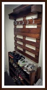 Coat Hanger And Shoe Rack 100 Shoe Storage Ideas For Small Spaces Organizations Pallets And 38