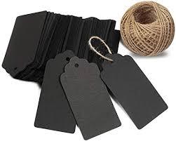 KINGLAKE <b>100 PCS</b> Kraft Paper <b>Blank</b> Gift Tags with String <b>Vintage</b> ...