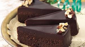 Chocolate Glazed Fudge Cake Recipe BettyCrocker
