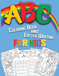 Free alphabet coloring pages, choose from more than 50 fun alphabets to print. Abc Coloring Book And Latter Writing For Kids High Quality Black White Animal Alphabet Coloring Book For Kids Big And Simple Illustrations