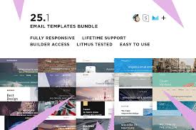 Save Email Template 25 Email Templates Bundle Builder Check Great Save Money
