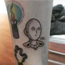 Tattoo Uploaded By Ross Howerton A Little Saitama Tattoo By Amanda