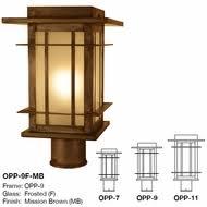 craftsman style lighting. arroyo craftsman opp oak park mission outdoor lighting post light mount style