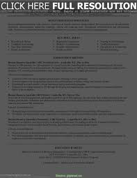 Typical Hr Specialist Resume Sample Gallery Of Hr Specialist Resume