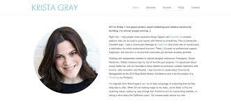 the  best personal websites we    ve ever seen   krista gray