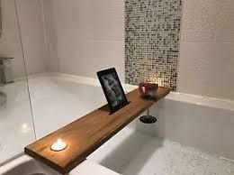 Image is loading Wooden-Oak-Bath-Board