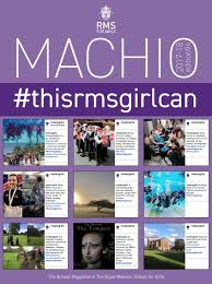 Machio 2017-18 by The Royal Masonic School for Girls - issuu