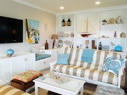 Beach Cottage Kitchen Decorating Beach Cottage Style Nautical Cottage Living Room