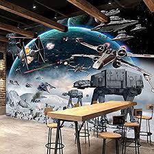Mznm <b>Custom 3D Photo Wallpaper</b> Cartoon Star Wars Children ...