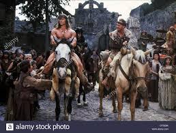 TRACEY WALTER, ARNOLD SCHWARZENEGGER, CONAN THE DESTROYER, 1984 Stock Photo  - Alamy