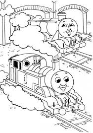 Thomas The Train Birthday Coloring Pages At Getdrawingscom Free