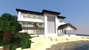 modern architecture house wallpaper. Interesting Architecture Modern Architecture Minecraft Background Wallpaper With House E