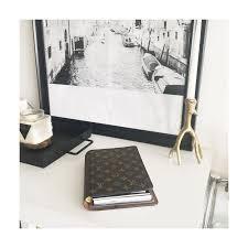 louis vuitton desk agenda and planning minimalism cloth paper
