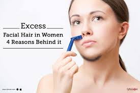 Reasons for women facial hair