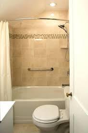 moen curved shower rod post