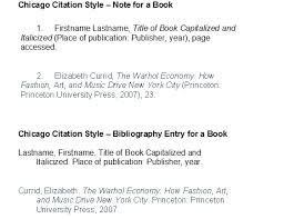 bibliography in chicago style citing sources art and art history research guides at knox college