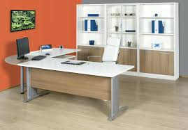 L shaped desks for home office Solid Wood Modern Shaped Office Desk Home Office Desk Furniture Orange Grey Color Home Office Mediakidsclub Modern Shaped Office Desk Mediakidsclub
