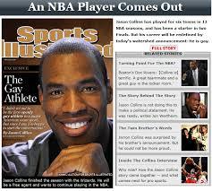 Jason Collins, 34 anni,di professione giocatore di basket (gioca nei Washington Wizards), è il primo atleta dello sport professionistico statunitense a ... - Jason_Collins
