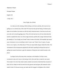 Writing An Essay Introduction Examples English Example Essay English Short Essays English Essays For 6