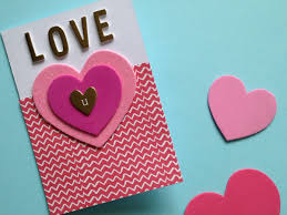 2 quick and easy valentine s cards valentines day cards quick easy