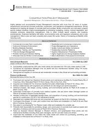 Styles Project Manager Job Description Sample Resume Project ...
