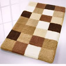 gorgeous brown bathroom rugs light blue and brown bathroom rugs rugs ideas
