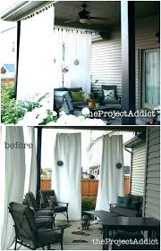 outdoor screen curtains new best for patio exterior design inspiration shade in 11