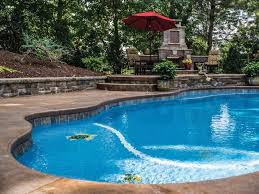 latham pool custom fiberglass pool options mosaic tile