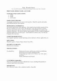 resume employment history examples template for resignation letter