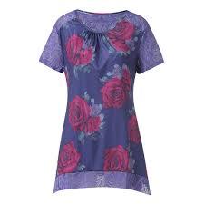 Panel Shirt Design Ladies Amazon Com Dianli Vintage Boho Women Summer Sleeve Dress