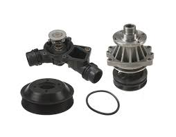 water pump thermostat package composite e46 non m e39 6cyl x3 x5 z4