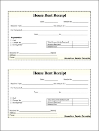 House Rent Bill Sample Template Rent Receipt Template Template Ideas Printable