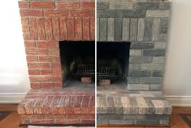 brick refinishing how to refinish a brick fireplace image collections refinish brick fireplace with tile