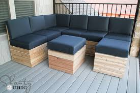Diy outdoor seating Low Cost Diyoutdoormodularseating Shanty Chic Diy Modular Outdoor Seating Shanty Chic