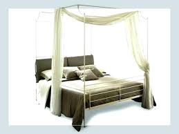 Full Size White Canopy Bed Full Size Canopy Bed King Size Bed ...