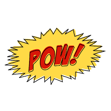 Show all png & svg pow sign icons. Vintage Comic Pow Sound Effect Free Svg