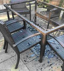 sharon harvey s replacement table also smashed under the sun on june 30 she said