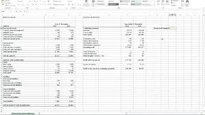 Profit And Loss And Balance Sheet Example Projection Sheet Template Twelve Month Profit Balance